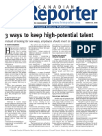 Keeping High Potential Talent - Canadian HR Reporter
