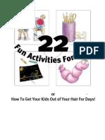 22FunActivitiesdsss