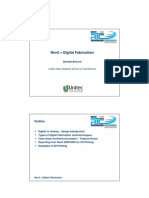 RTC09 2.2.4 Revit and Digital Fabrication - Danelle Briscoe