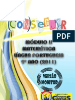 MÓDULO 2 MATEMÁTICA 9º ANO monitor