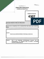 Iniciativa 4307 Ley Nacional de Archivos