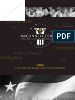 McConnell Center Brochure - 15th Anniversary