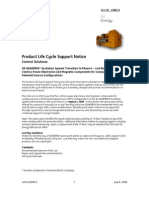 The Product Life Cycle Support Policy See Life Cycle Overview is [1]...