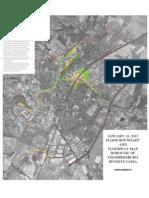 Chambersburg 2012 FEMA Floodplain Map With Aerial Photography
