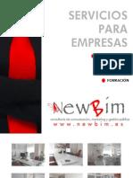 Catálogo servicios empresas Newbim