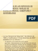 1 Servicios de Salud en Mexico