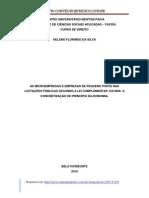 As ME e EPP nas licitações Públicas e a LC 123-06 - A Concretização do Princípio da Isonomia