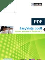 EasyVista 2008 Brochure SP v2