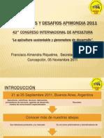 Aprendizajes y desafíos APIMONDIA 2011