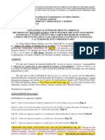 Alegaciones Defensa Vía de la Plata (Refinería No)