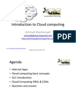 Introduction to Cloud-computing