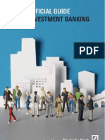 The Unofficial Guide to Investment Banking Issued by Contents Overv