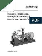 ITT - Manual de Instalação. Operação e Manutenção - Bomba Centrífuga