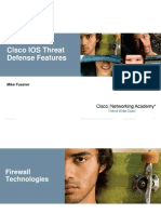 Cisco IOS Threat Defense