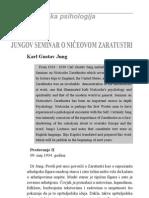 Jungov Seminar o Niceovom Zaratustri