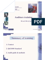 Automotive Auditor Training