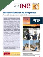 INE Sobre Inmigracion en Espana