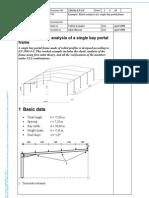 37720769 Example Elastic Analysis of a Single Bay Portal Frame