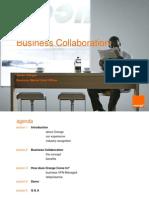 CIO 100 2011 - Business Collaboration - Xavier Villegas - Orange