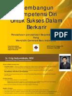 Workshop Membangun Kompetensi Diri Untuk Sukses Dalam Berkarir