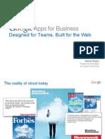 CIO 100 2011 - Google Apps for Business