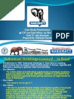 CIO 100 2011-Case Study-Ajay Ramanath/Kashyap Cahwda-Nakumatt