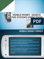 CIO 100 2011-Mobile Money Search for System Unification- Kariuki Gathitu-Zege Technologies