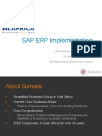 CIO 100 2011-Silafrica SAP ERP Implementation-Sumaria-Neeraj Chopra