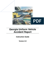 Georgia Uniform Vehicle Accident Report