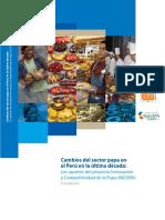 Cambios del sector papa en el Perú en la última década