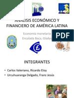 ANÁLISIS ECONÓMICO Y FINANCIERO DE AMÉRICA LATINA diapos