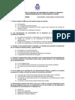 Examen oposición al Cabildo de Tenerife año 2008