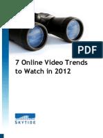 7 Online Video Trends to Watch in 2012