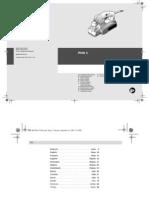 Bosch Electric Planer PHO1 952305 Manual