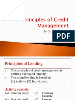 Ch2 Principles of Credit Management