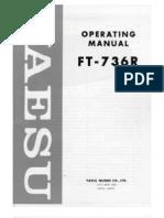 Yaesu FT-736R Users Manual