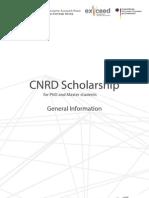 Application Form CNRD General Information