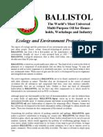 Ballistol Story Englisch