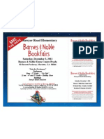 2011 Bookfair Flyer With Vouchers