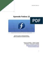 Aprende Fedora 12