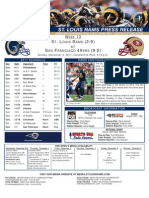 Week 13 - Rams at 49ers