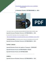 Apostila Concurso Petrobrás Técnico de ESTABILIDADE Jr. 2012