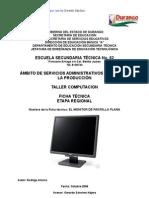 Análisis de Objeto Técnico El Monitor Pantalla Plana