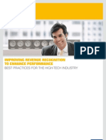 Improving Revenue Recognition to Enhance Performance