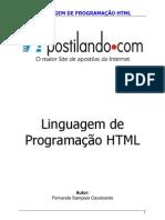 Linguagem de Progamação HTML