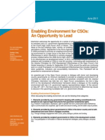 Interaction Policy Paper_Enabling Environment