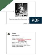 Formas precientíficas de conocimiento, en formato presentación