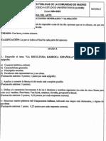 Historia del Arte - Modelo PAU 2004/05