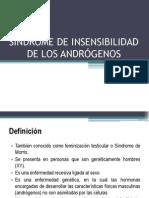 SÍNDROME DE INSENSIBILIDAD DE LOS ANDRÓGENOS