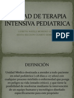 Unidad de Terapia Intensiva Pediatric A